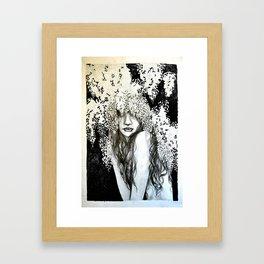 Wysteria Framed Art Print