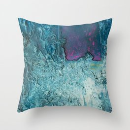 Crumbled Thought Throw Pillow