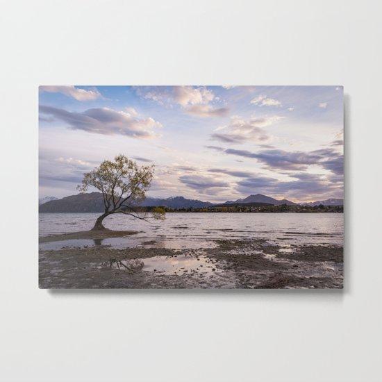 That Wanaka Tree Metal Print