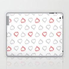 Hearts II Laptop & iPad Skin