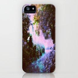 Enchanted Garden Path iPhone Case