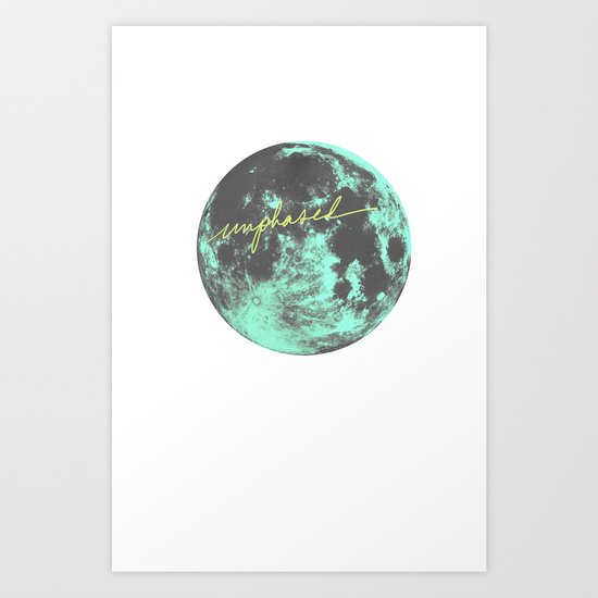 unphased Art Print