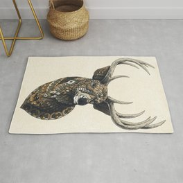 White-Tailed Deer (Color Version) Rug