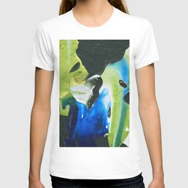 Abstraction - Green and green - by LiliFlore T-shirt