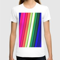 manchester T-shirts featuring mANCHESTER pRIDE 323 by ANGELA SEAGER - Photo-based Artist