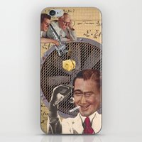 lab iPhone & iPod Skins featuring LAB RAT by Julia Lillard Art