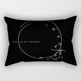 this is my design Rectangular Pillow