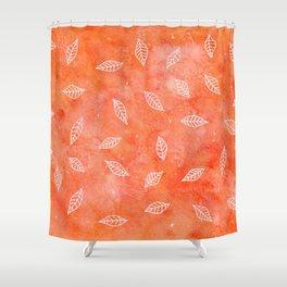 Lotsa Leaves Shower Curtain