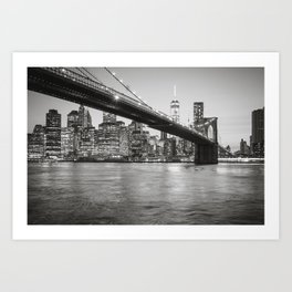 After Sunset in Brooklyn Art Print