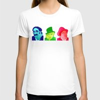 marx T-shirts featuring The Trinity by Rachcox