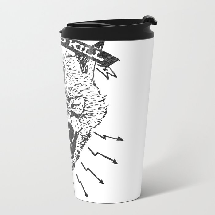 Born to kill Metal Travel Mug