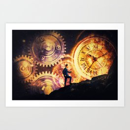 the matter of time Art Print