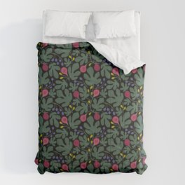 FIGS green Comforters