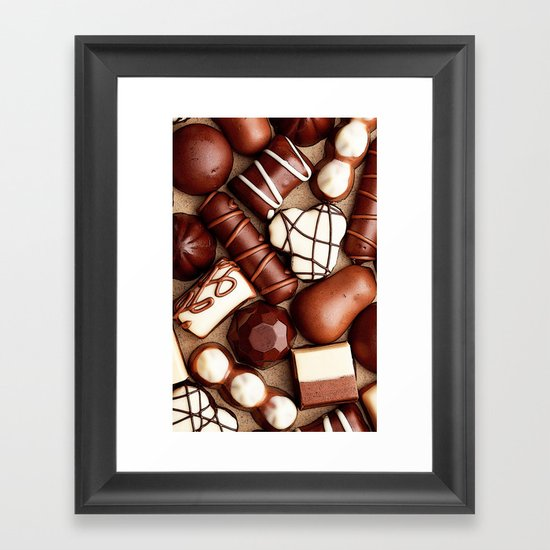 CHOCOLATES BOX for IPhone Framed Art Print