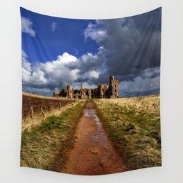 Slains Castle Wall Tapestry