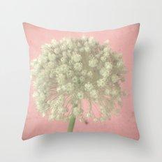 Rose Tinted Throw Pillow