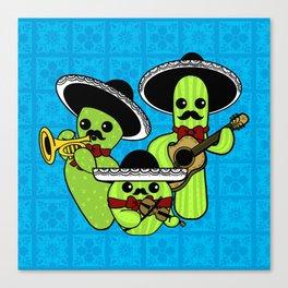 Los Nopalitos Canvas Print