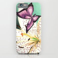 White Lily iPhone 6s Slim Case