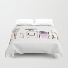 Morning Routine Duvet Cover