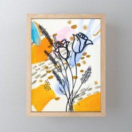 Homebody Floral Framed Mini Art Print