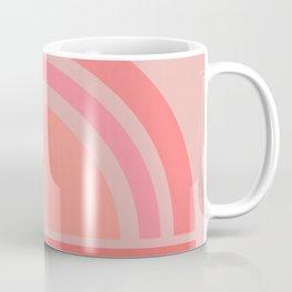 pink rainbow 2 Coffee Mug