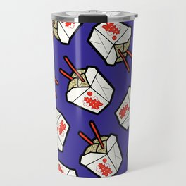Take-Out Noodles Box Pattern Travel Mug