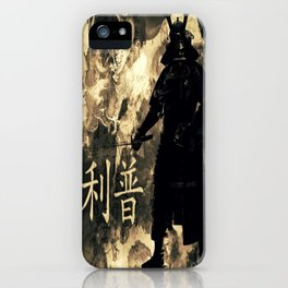 Honor of the Samurai iPhone Case