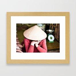 Nón Lá Framed Art Print