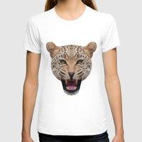 jaguar T-shirts featuring jaguar by fizziponi