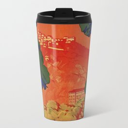 Vintage Italian travel Fiuggi springs Travel Mug