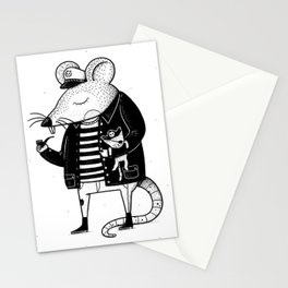 Rat Ship Stationery Cards