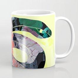 Painted Snake Coffee Mug