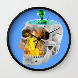 Hot bath Wall Clock