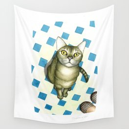 Cat love Wall Tapestry