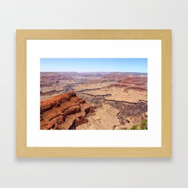 Awesome Grand Canyon View Framed Art Print