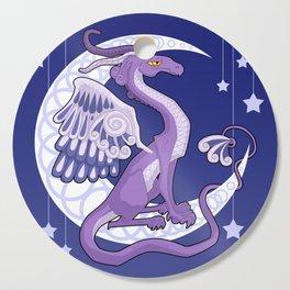 Vendel Dragon - the moon Cutting Board