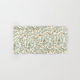 Oranges Foliage Hand & Bath Towel