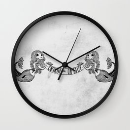 Captain -oh- Captain! Wall Clock