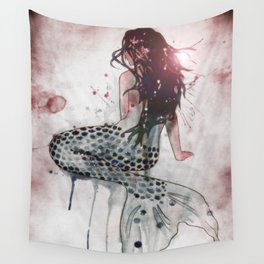 Mermaid II Wall Tapestry