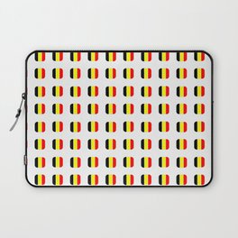 Flag of belgium with soft square Laptop Sleeve
