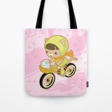 Blossom Ride Tote Bag
