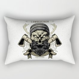 Fortitude (Lumberjack) Rectangular Pillow
