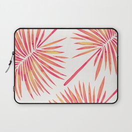 Tropical Fan Palm – Pink Palette Laptop Sleeve