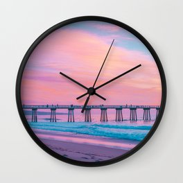 pastel nature #society6 #decor #buyart Wall Clock