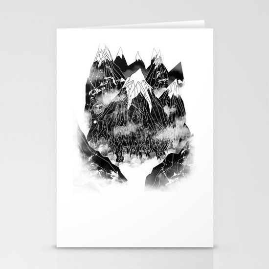 Valley of the Mountain Goat Stationery Cards