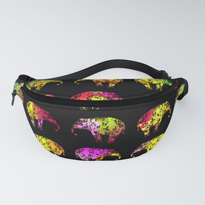 Rainbow Elephants Fanny Pack
