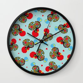 Rooster of Barcelos | Portuguese Lucky Charm Wall Clock