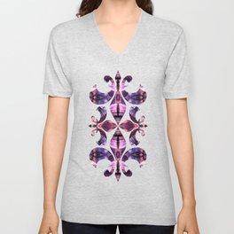 Purple Storm Unisex V-Neck