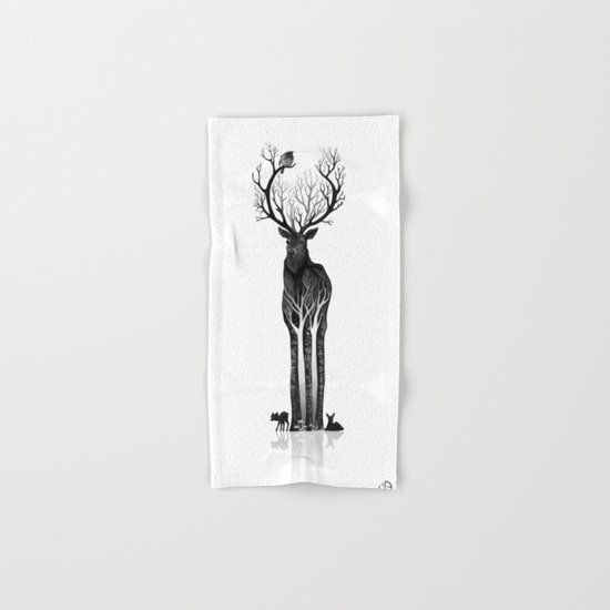 The black deer Hand & Bath Towel