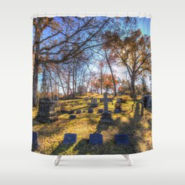 Sleepy Hollow Cemetery New York Shower Curtain